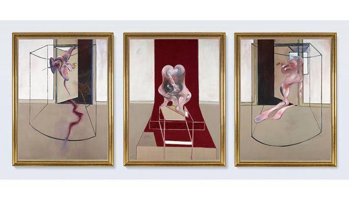 Das Toplos der Sotheby's-Auktion ist ein Triptychon von Francis Bacon. Es soll 60 bis 80 Millionen Dollar einbringen.