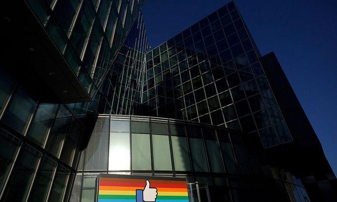 Facebook-Headquarter für Europa in Dublin