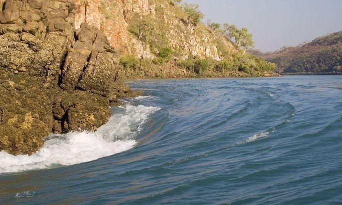 Horizontal Falls in der Talbot Bay.