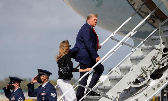 Donald Trump bereitet sich auf ein erbittertes Rückzugsgefecht vor.
