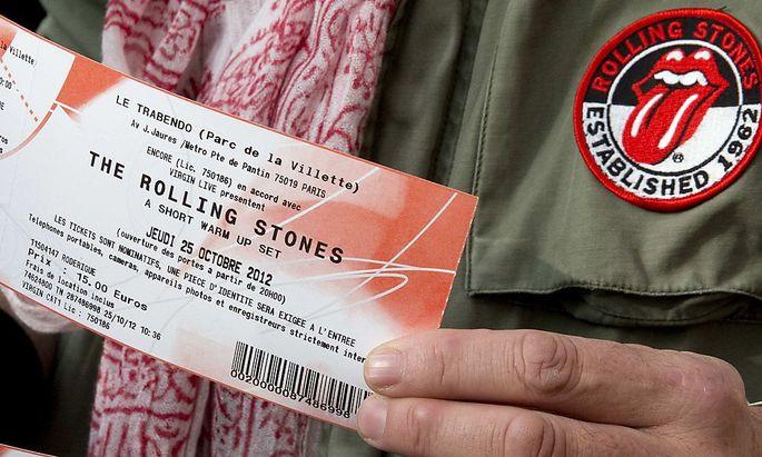 Rolling Stones gaben Überraschungskonzert in Paris