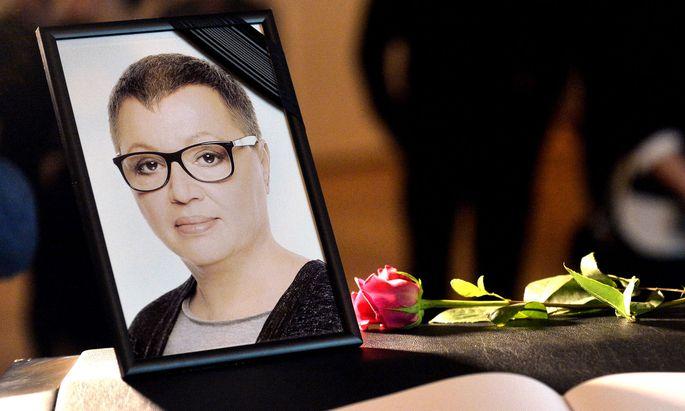 Die verstorbene Gesundheitsministerin Sabine Oberhauser
