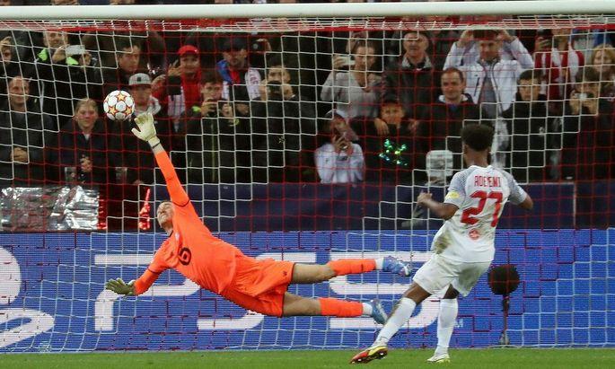 FUSSBALL: UEFA CHAMPIONS LEAGUE GRUPPE G / FC SALZBURG VS OSC LILLE