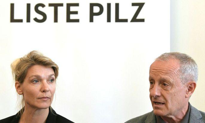 Maria Stern und Peter Pilz