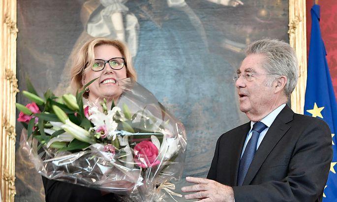 RH-Präsidentin Kraker vom Bundespräsidenten angelobt