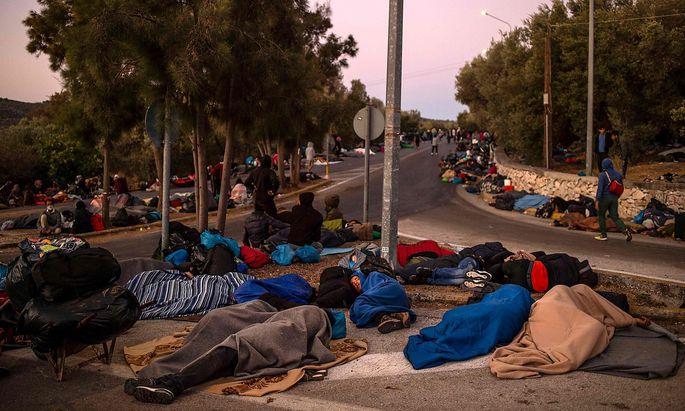 Wo landen Asylsuchende?