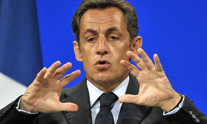 Frankreich Nicolas Sarkozy Kriegspfad