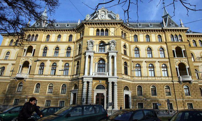 Landesgericht Graz: Nächste Woche müssen sich die Jugendlichen hier verantworten
