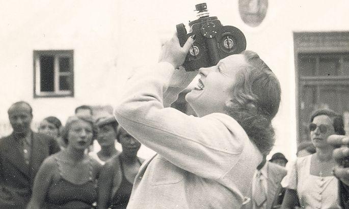Hinter der Kamera und vor der Linse: Marlene Dietrich in Salzburg 1936/37.