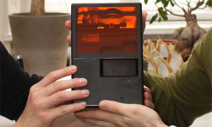 Wien entwickelt kleinsten 3DDrucker