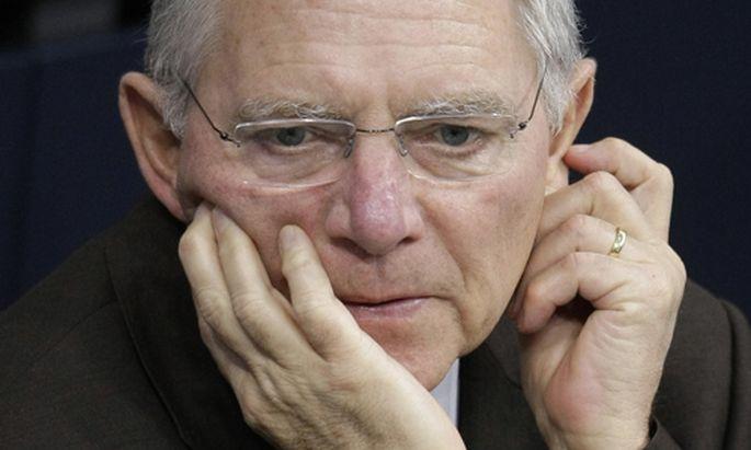 Deutscher Minister Schaeuble erneut