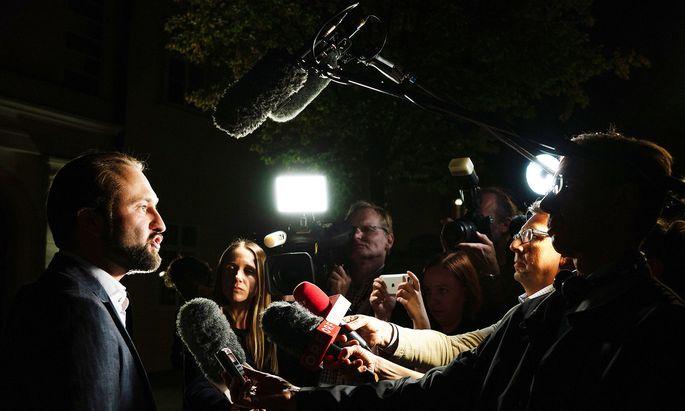 Max Lercher, vormals Bundesgeschäftsführer der SPÖ und demnächst Abgeordneter, gab zuletzt ziemlich viele Interviews.