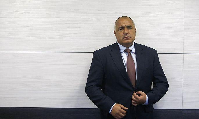 Bojko Borissow, bis vor Kurzem noch bulgarischer Premier