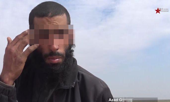 Der Wiener IS-Kämpfer Azad G. ist in Nordsyrien in Gewahrsam von kurdischen Einheiten.