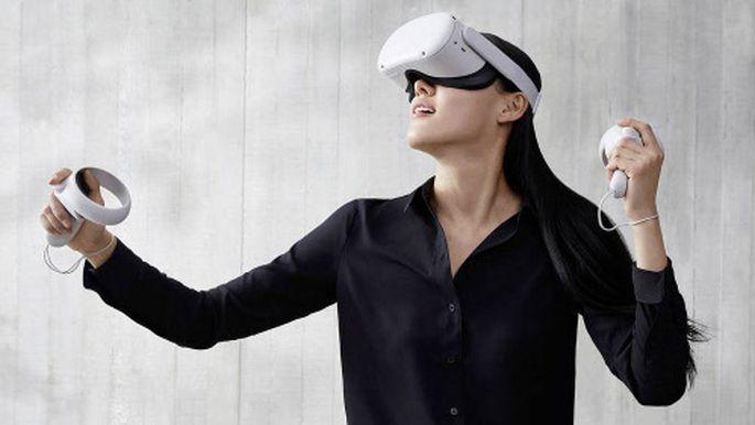 VR ohne große Vorbereitungen: Die Quest 2 braucht weder Kabel noch externe Kameras.