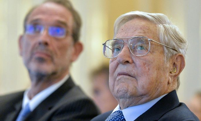 US-INVESTOR SOROS IN WIEN: FEIER '25 JAHRE OPEN MEDICAL INSTITUTE (OMI)' - SOROS / FASSMANN