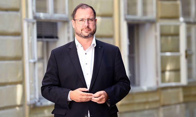 Ein Kickl-Mann: Christian Hafenecker.