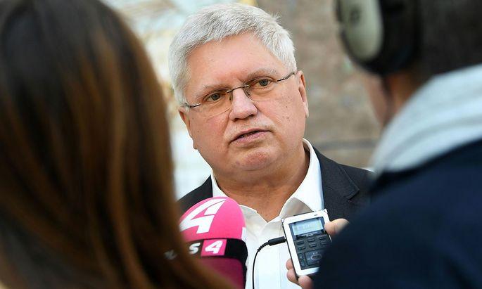 Verhandlungsführer Reinhard Bödenauer