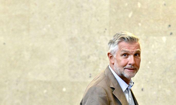 Walter Meischberger im Wiener Straflandesgericht