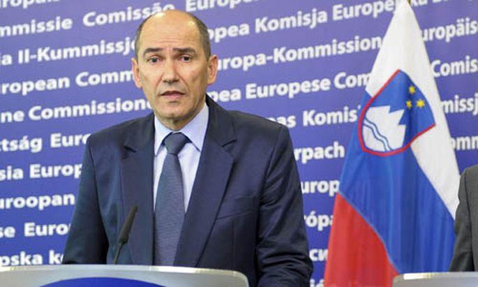 Sloweniens Regierungschef Jansa