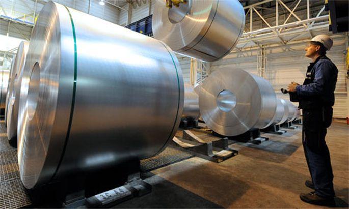 Stahlindustrie Voestalpine faehrt Sonderschichten