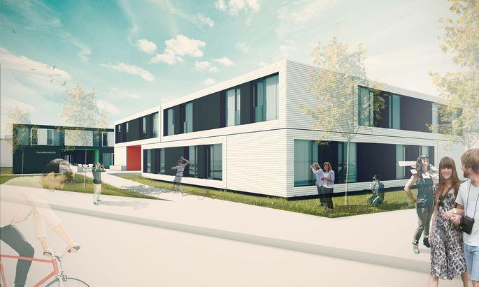 Container Studentenheim Aspern