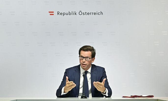 Regierungssprecher Alexander Winterstein