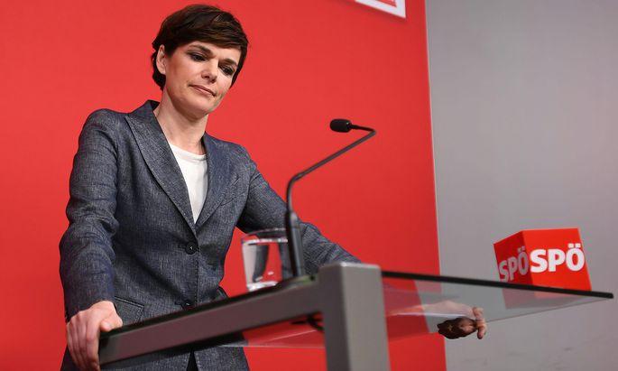 """Pamela Rendi-Wagner hat ihre persönliche Schmerzgrenze in der SPÖ erreicht: """"Die Selbstbeschädigung muss ein Ende haben."""""""