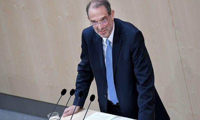 Bildungsminister Heinz Faßmann verteidigt die Reform im Parlament
