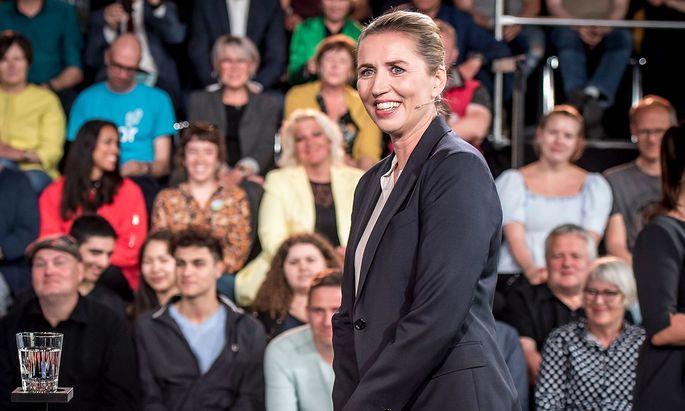 Mette Frederiksen und ihre Sozialdemokraten gelten als Favoriten für die Parlamentswahl in Dänemark.