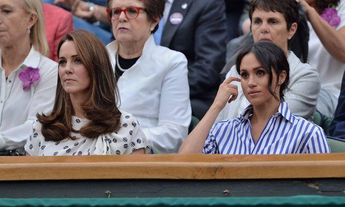 Über die Hintergründe des Zerwürfnisses zwischen Herzogin Catherine und Meghan wird nach wie vor spekuliert.