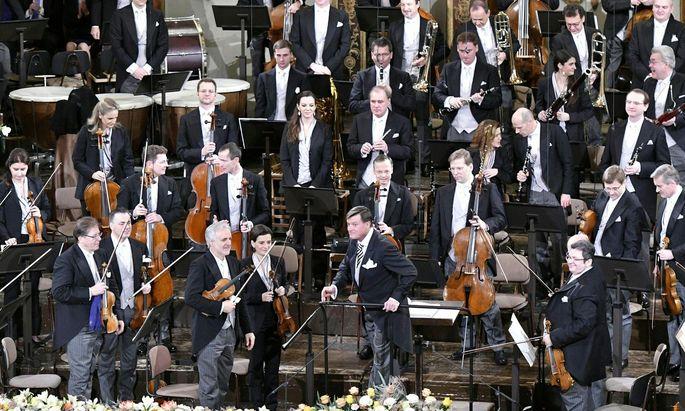 Die Wiener Philharmoniker (hier beim Neujahrskonzert 2019).
