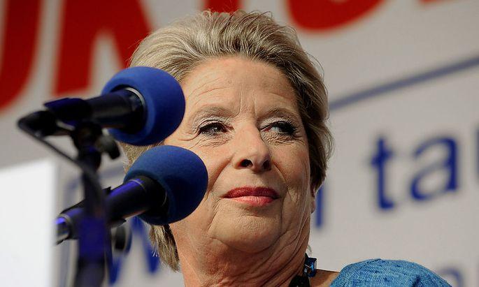 Archivbild: Ursula Stenzel bei einem früheren Wahlkampf-Termin der FPÖ
