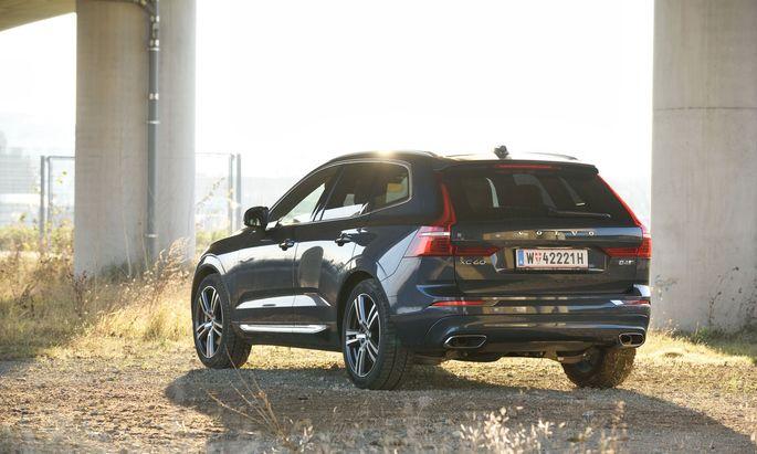 Ein neuer Buchstabe in der XC60-Modellreihe von Volvo: B für Dieselhybrid.