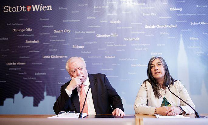 Michael Häupl und Maria Vassilakou kamen zuletzt auf keinen rot-grünen Zweig.