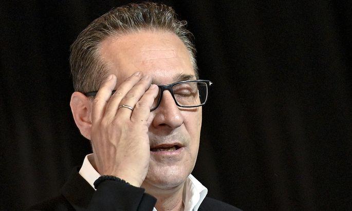 Beschuldigt: Ex-FPÖ-Chef Heinz-Christian Strache.