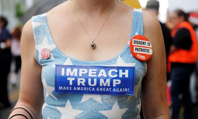 Droht Trump ein Amtsenthebungsverfahren?