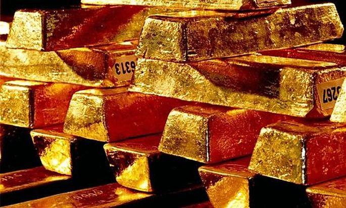 Run auf Gold ungebrochen