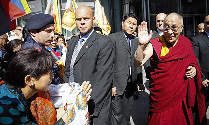 Der Dalai Lama in Wien