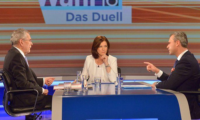 Mehr ein Duell Hofer gegen ORF