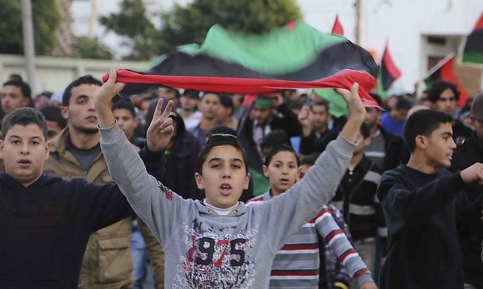 Nicht alle Libyer wollen nach der Scharia leben: Demonstration gegen Islamisten