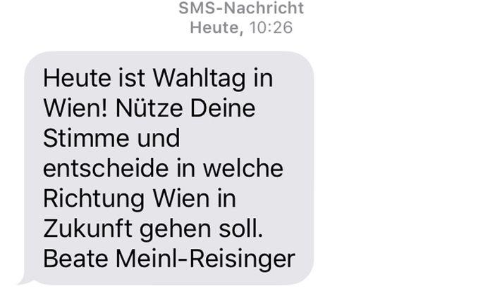 SMS der Neos