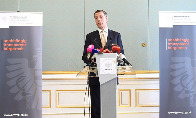 Der Generalsekretär des Justizministeriums, Christian Pilnacek
