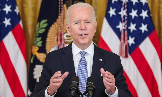 July 29, 2021, Washington, District of Columbia, USA: United States President Joe Biden talks about the next steps in th