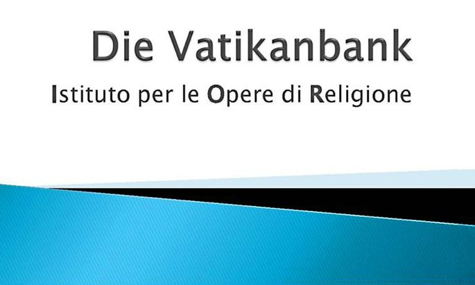 IOR Vatikanbank Freyberg