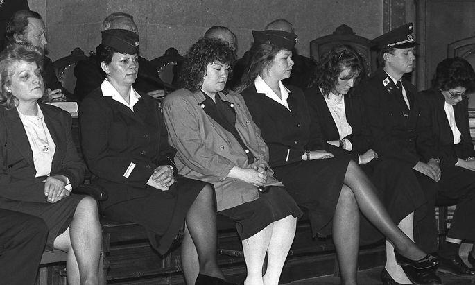 Stefanija M., Maria G., Irene L., Waltraud W.