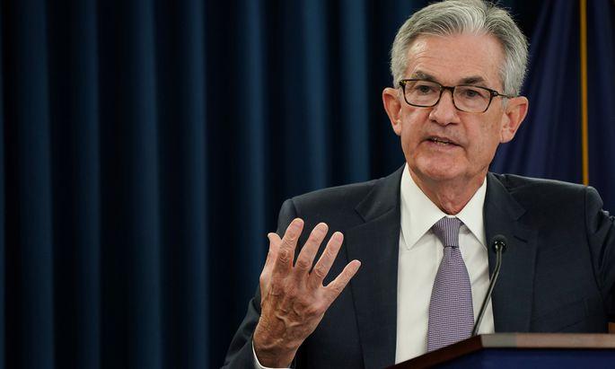 Balanceakt für Fed-Chef Jerome Powell.