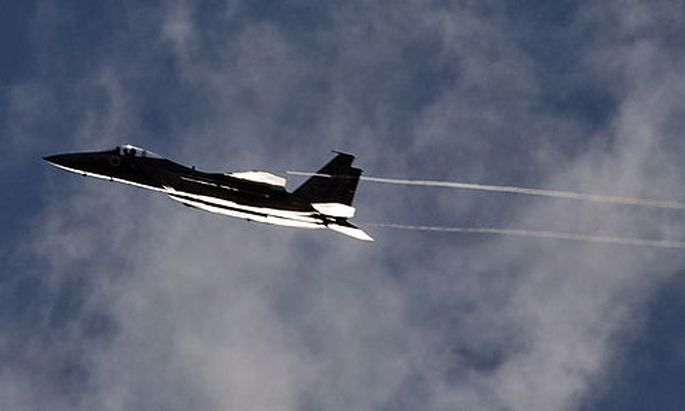 Israelische Kampfflugzeug