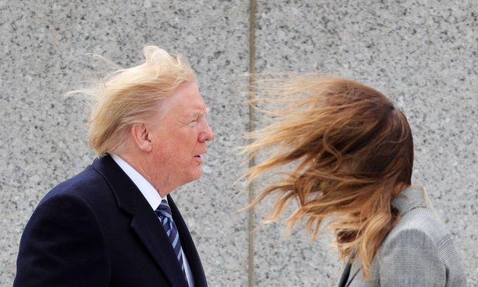Trump ist der wichtigste Exponent des Typs 1 der politischen Maskenträger: Verweigerer.