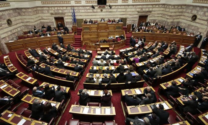 Election for the new President of Greek Parliament 06 02 2015 Greece Athens Greek Parliament Feb